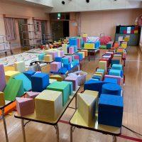 保育園 遊具にオールチタンAT254施工